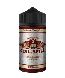 Coil Spill Bakers Daughter 100ml Shortfill