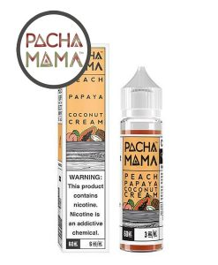 Peach Papaya Coconut Cream 50ml Shortfill